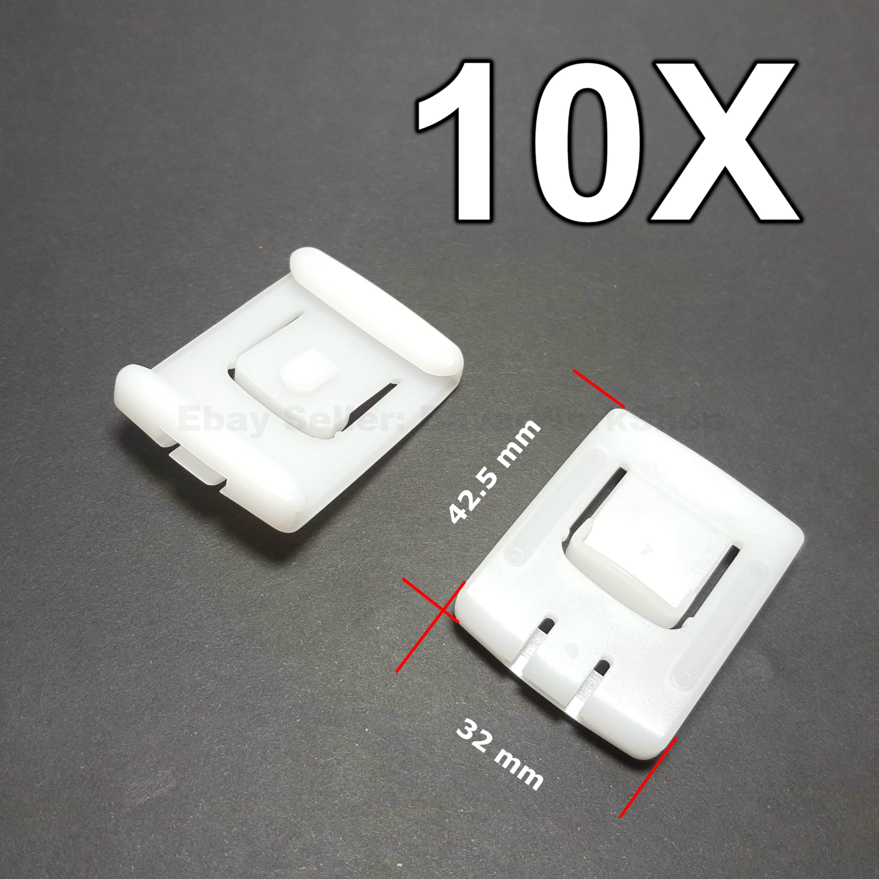 10x Exterior Interior Bodywork Trim Panel Screw Grommets For Seat IBIZA AROSA